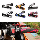"Universal 7/8"" Dirt Motorcycle Pro Hand Grips Handle Bar Grip Pit Dirt Bike"