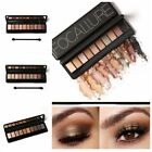 10 Colors Set Makeup Eyeshadow Palette With Brush Shimmer Eyebrow Powder Matte