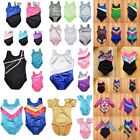 Baby Kids Girls Gymnastic Leotard Ballet Dancewear Skating Bodysuit Unitard US