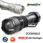 Внешний вид - SkyWolfeye 8000 LM  Q5 LED Flashlight Zoomble Mini Torch Light Lamp AA 14500 UP