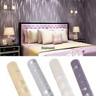 10M Home Improvement Luxury 3D Non-Woven Flocking Wallpaper Roll US 4 Colors