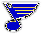 St Louis Blues NHL Hockey Symbol Logo Car Bumper Sticker Decal 9'', 1 $11.99 USD on eBay
