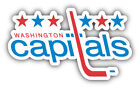 Washington Capitals NHL Hockey Slogan Car Bumper Sticker  - 3'', 5'', 6'' or 8'' $4.5 USD on eBay