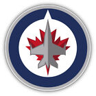 Winnipeg Jets NHL Hockey Round  Car Bumper Sticker Decal - 3'' or 5'' $3.75 USD on eBay