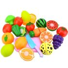 Fun Preschool Kids Early Educational Toys Safety Plastic Cutting Vegetable Fruit