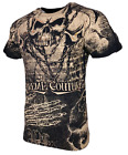 XTREME COUTURE by AFFLICTION Men T-Shirt KILLER Skull Biker MMA Gym S-4X $40 image