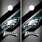 Philadelphia Eagles Cornhole Skin Wrap NFL Football Team Colors Vinyl Decal DR65 $59.99 USD on eBay