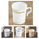 40 Pcs - 8oz Disposable Plastic Coffee Cups - Tres Chic Coll