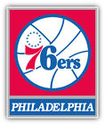 Philadelphia 76ers NBA Basketball Combo  Car Bumper Sticker - 9'', 12'' or 14'' on eBay