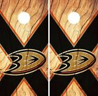 Anaheim Ducks Cornhole Skin Wrap NHL Hockey Wood Design Vinyl Decal Logo DR86 $39.99 USD on eBay