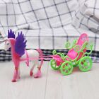 Mini Dream Fly Horse Carriage For Barbie Kelly Doll Accessories Girl Kid Toy New