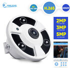 360 degree POE H.265 IP Panoramic 5MP/3MP/2MP Security Camera ONVIF Baby monitor