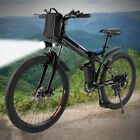 26 ft Foldable Electric Mountain Bike Bicycle E bike W/Lithium Battery 250W 36V#