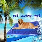 Pet Dog Cat Soft Kennel Cooling Bed Mat Breathable Hand Washable Nylon Carpets