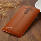 Battery Cover Leather Housing Rear Back Door NFC For LG G4 H815 H810 H811 F500