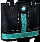 Montana West Concealed Carry Tooled Tote Purse Bag