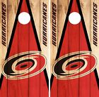 Carolina Hurricanes Cornhole Skin Wrap NHL Hockey Custom Wood Decor Vinyl DR121 $39.99 USD on eBay