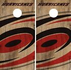 Carolina Hurricanes Cornhole Skin Wrap NHL Hockey Vintage Art Decor Vinyl DR124 $39.99 USD on eBay