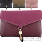 Ladies / Womens Faux Leather RFID Protected Tri-Fold Money / Coin Holder / Purse