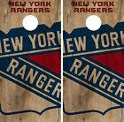 New York Rangers Cornhole Skin Wrap NHL Hockey Vintage Art Decor Vinyl DR144 $39.99 USD on eBay