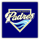 San Diego Padres MLB Baseball Symbol Car Bumper Sticker - 9'', 12'' or 14'' on Ebay