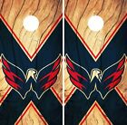 Washington Capitals Cornhole Skin Wrap NHL Hockey Custom Wood Design Vinyl DR156 $39.99 USD on eBay
