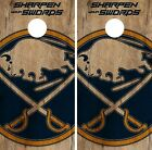 Buffalo Sabres Cornhole Skin Wrap NHL Hockey Custom Art Decor Vinyl DR166 $59.99 USD on eBay