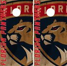 Florida Panthers Cornhole Skin Wrap NHL Hockey Vintage Game Board Vinyl DR178 $39.99 USD on eBay