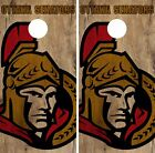 Ottawa Senators Cornhole Skin Wrap NHL Hockey Team Wood Design Vinyl DR184 $39.99 USD on eBay