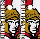 Ottawa Senators Cornhole Skin Wrap NHL Hockey Logo Custom Design Vinyl DR185 $39.99 USD on eBay
