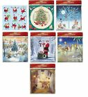 Medicci Small Square Advent Calendars  with envelope 24 doors 280 x 280