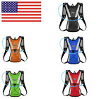Hydration Pack Water Rucksack Backpack Bladder Bag Bicycle Pouch Cycling US SHIP