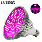 100W Led Grow Light Bulbs Full Spectrum Growing Lamp E27 for Plant Hydroponic US