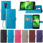 For Motorola Moto G6 Play G4 G5S Plus Case Leather Wallet Flip Case Pouch Cover
