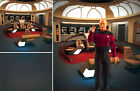 POSTER BACKDROP~STAR TREK~TNG ENTERPRISE D BRIDGE FOR 1/6 FIGURE PICARD WORF QMX on eBay