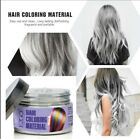 Women Glam Hair Color Pomade Wax Cream For life in color paint party Dry Quickly