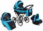 Baby Pram Stroller Buggy Pushchair Classic Retro 3in1 Travel system car seat  <br/> Best Quality#Classic Look#8 Colors#All Inclusive