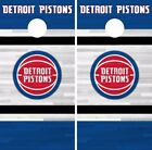 Detroit Pistons Cornhole Skin Wrap NBA Basketball Team Colors Vinyl Decal DR257 on eBay