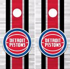 Detroit Pistons Cornhole Skin Wrap NBA Basketball Team Color Vinyl Sticker DR258 on eBay