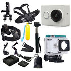 USA Original XiaoMi Yi WIFI Sports Action Camera+Accessories Kit+Charger+Battery