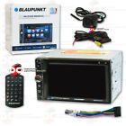 "BLAUPUNKT CAR AUDIO 2-DIN 6.2"" CD DVD BLUETOOTH STEREO W/ FREE BACK UP CAMERA"