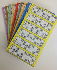 Bingo Flyers, Pad Of 600 Tickets 6 To View, Bright Colours Like Jumbo 1-90