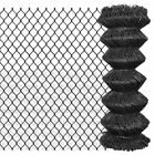 15m / 25m Outdoor Steel Chain Link Fence Garden Barrier Fencing Wire Roll Grey