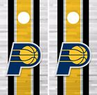 Indiana Pacers Cornhole Skin Wrap NBA Basketball Team Colors Design Vinyl DR284 on eBay