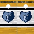 Memphis Grizzlies Cornhole Skin Wrap NBA Basketball Custom Yellow Vinyl DR293 on eBay