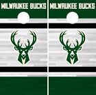 Milwaukee Bucks Cornhole Skin Wrap NBA Basketball Team Colors Vinyl Decal DR299 on eBay