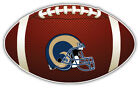 St. Louis Rams Helmet NFL Logo Ball Car Bumper Sticker Decal -  9'',12'' or 14'' on eBay