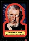 1977 Topps Star Wars Stickers #13 Alec Guinness as Ben EX $3.25 USD on eBay