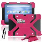 """Shockproof Silicone Stand Cover Case Fit Amazon Kindle fire HD 8.9"""" + Stylus"""