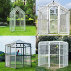 4 Type Large Parrot/Bird Animal Cage House Iron Pet Poultry Walk in Heavy Duty